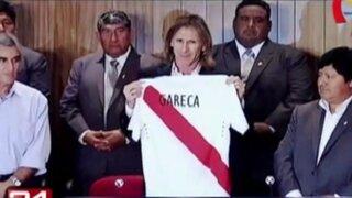 Bloque Deportivo: así fue la presentación de Ricardo Gareca como nuevo DT de Perú