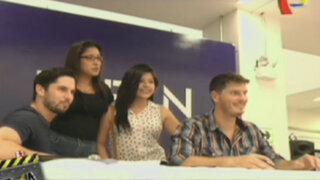 El elenco de la película Atacada firmó autógrafos en Piura