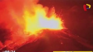 Chile: autoridades decretan alerta roja por erupción de volcán Villarica