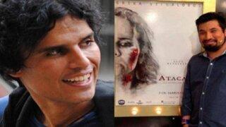 Pedro Suárez Vértiz felicitó a Aldo Miyashiro por su primera película 'Atacada'