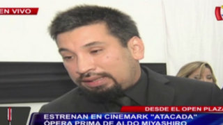 Open Plaza: avant premiere en Cinemark de 'Atacada', ópera prima de Aldo Miyashiro