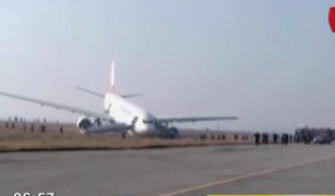 Avión de Turkish Airlines realiza aterrizaje forzoso en aeropuerto de Nepal