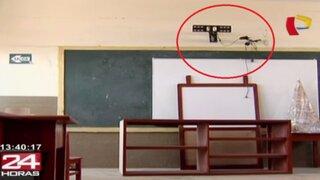 Roban electrodomésticos por más de S/.10 mil al colegio Fe y Alegría