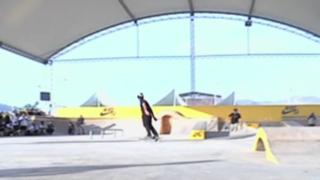 Inauguran en balneario de Asia el primer skatepark techado del Perú