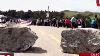 Segundo día de paro agrario afectó actividades turísticas en Cusco
