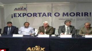 Empresarios preocupados por caída de exportaciones