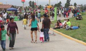"""Parques zonales celebrarán Día Internacional de la Mujer con """"Cadena del abrazo"""""""