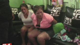 Capturan a dos hermanas que comercializaban droga en el Callao