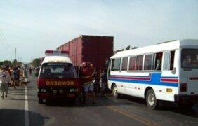 Embargarán vehículos que choquen para asegurar reparación civil