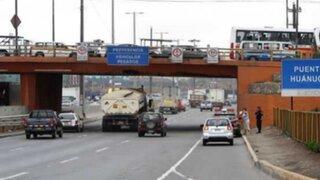 Desviarán tránsito en Vía Evitamiento por obras en puentes