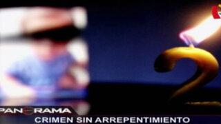 Crimen sin arrepentimiento: el asesinato de la niñera en Los Olivos