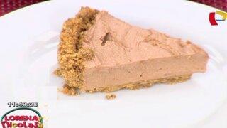 Aprende los pasos para preparar un dulce cheesecake de nutella