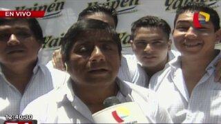 Walter Yaipén: mi detención estuvo planificada por corrupción de fiscales