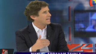 Abraham Zavala: ''Hay excesos en los programas de TV, pero son casos puntuales''