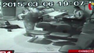 Cámaras de seguridad registran violentos hechos en el Interior del país