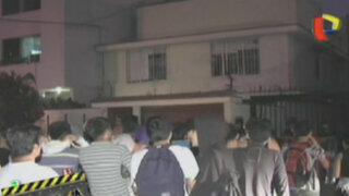 Marcha de jóvenes llegó hasta casa de adolescente que agredió a anciano