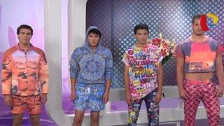 Trendy: Edward Venero nos presenta su colección de ropa para hombres