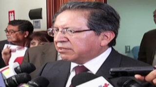Fiscal de la Nación acudió al Congreso y habló sobre 'Andahuaylazo'