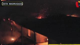 Cercado de Lima: incendio consumió archivos de Colegio Real San Marcos