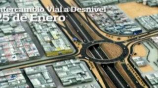 Se inicia construcción de intercambio vial en Panamericana Norte