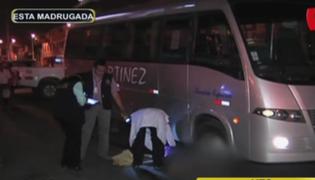 Mujer muere tras ser atropellada por una cúster particular en Villa El Salvador