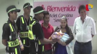 Alcalde de La Molina será padrino de menor que nació en carro de Serenazgo