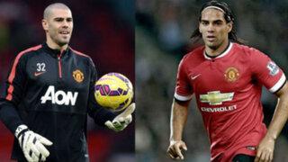 Falcao y Valdés ahora juegan en la sub 21 del Manchester United