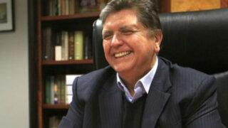 Congreso confirma que no hay desbalance patrimonial de Alan García