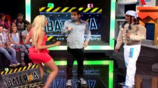 La Batería: El espectacular duelo entre Paolo de Brasil y Brenda Carvalho
