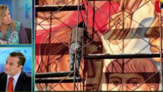 Confirman que municipio de Lima borrará hoy todos los murales del centro histórico
