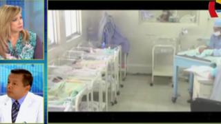 Bebés mueren por bacteria en hospital de Loreto: especialista aclara el caso