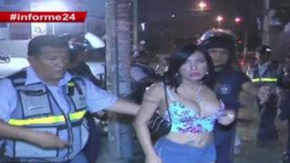 Informe 24: erradican travestis por convertir calles del Centro de Lima en prostíbulos