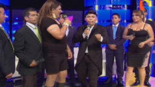 Marisol se enfrentó a su 'doble' en Igualitos con Edwin Sierra