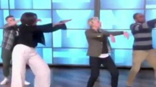 EEUU: Michelle Obama baila en programa de Ellen DeGeneres