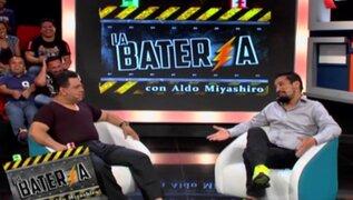 Andrés Hurtado habló de todo con Aldo Miyashiro en La Batería