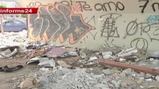 Informe 24: alcaldes no sancionan a los que arrojan desmontes en distritos
