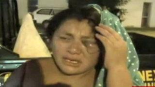 Chimbote: otra mujer golpeada salvajemente por su pareja