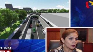 Patricia Juárez dio detalles de obra en avenidas Arequipa-Arenales-Garcilaso