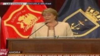 Chile: presidenta Bachelet se pronuncia sobre incidente con Perú