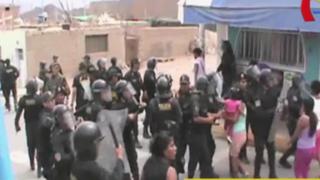 Nasca: Policía se enfrenta a pobladores durante operativo contra minería ilegal