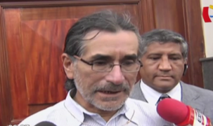 Waldo Ríos se presentó ante comisión Áncash y defendió aportantes de reparación civil