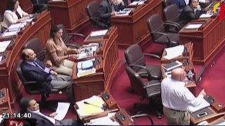 Congreso: acalorada sesión en el Pleno por nueva denuncia de reglaje de la DINI