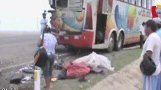 Accidentes de carretera dejan tres muertos en el interior del país