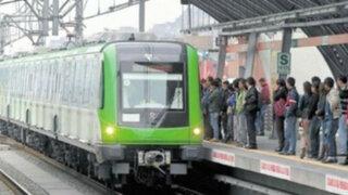 Evalúan adquisición de nuevos trenes para Línea 1 del Metro de Lima