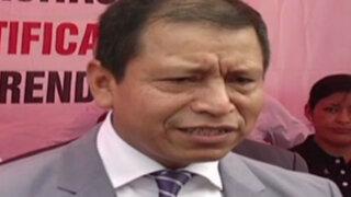 Ministro Maurate pide sanción por seguimiento de la DINI