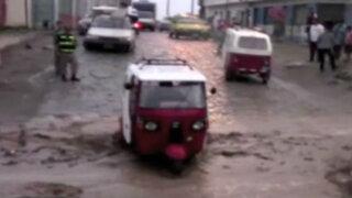Chosica: calles siguen inundadas y temen nuevos huaycos