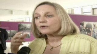 """Ministra de Cultura asegura que no llamó """"marginales"""" a murales"""