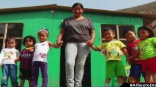 Nidos en los cerros: las clases escolares en las alturas de Villa María del Triunfo