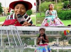 Pequeñas gigantes del huayno: los sueños e historias de tres promesas del folclore