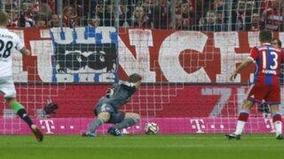 Los grandes también fallan: mira el tremendo 'blooper' del arquero Manuel Neuer